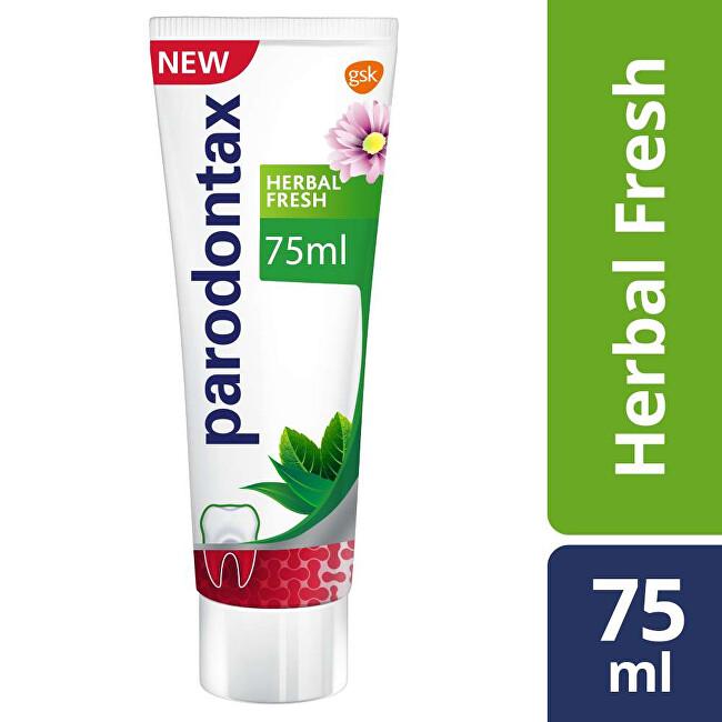 Parodontax Zubní pasta proti krvácení dásní a paradontóze Herbal Fresh 75 ml