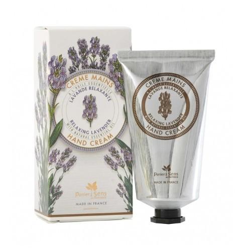 Panier des Sens Upokojujúci krém na ruky s esenciálnym olejom Levanduľa (Hand Cream) 75 ml