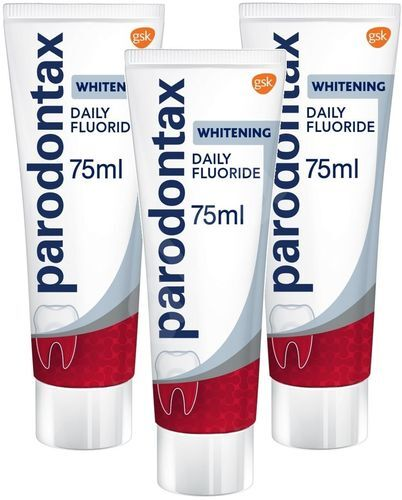Parodontax Zubní pasta s bělicím účinkem Whitening Tripack 3 x 75 ml