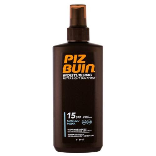 Piz Buin Lehký sprej na opalování SPF 15 (Ultra Light Sun Spray) 200 ml