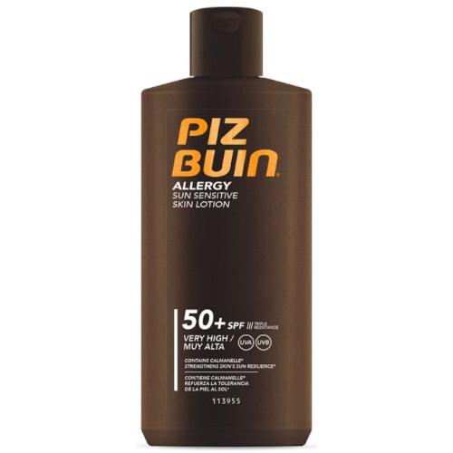 Piz Buin Mléko na opalování pro citlivou pokožku Allergy SPF 50+ (Sun Sensitive Skin Lotion) 200 ml