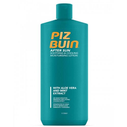 Piz Buin Mléko po opalování s aloe vera a mentolovým extraktem (Soothing & Cooling Moisturising Lotion) 400 ml