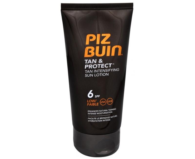 Piz Buin Mlieko urýchľujúci proces opaľovanie SPF 6 ( Tan & Protect Tan Intensifying Sun Lotion) 150 ml