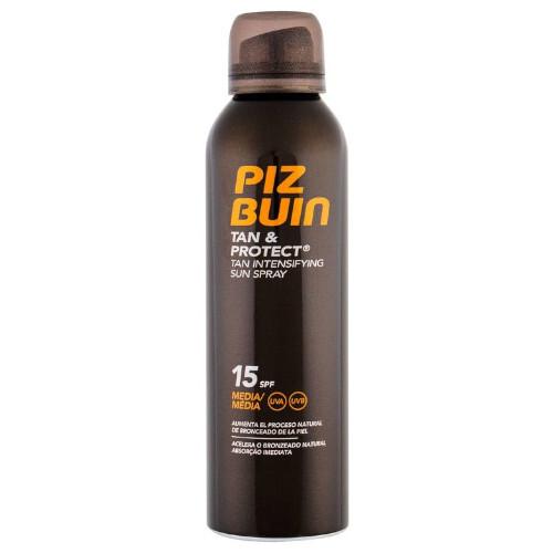 Piz Buin Ochranný sprej urychlující opálení Tan & Protect SPF 15 (Tan Intensifying Sun Spray) 150 ml