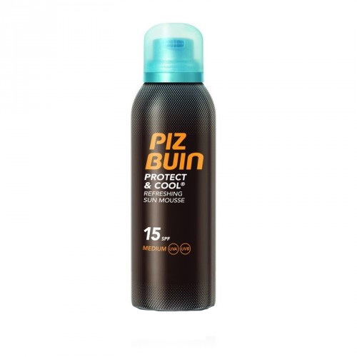 Piz Buin Chladivá pěna na opalování SPF 15 Protect & Cool (Refreshing Sun Mouss) 150 ml