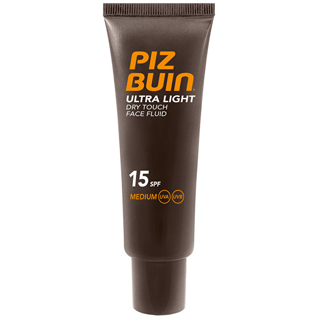Fotografie Piz Buin Ultra Light Dry Touch Face Fluid SPF 15 50 ml
