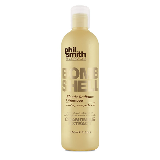 Phil Smith Be Gorgeous Šampon pro blond vlasy Bombshell (Blonde Radiance Shampoo) 350 ml