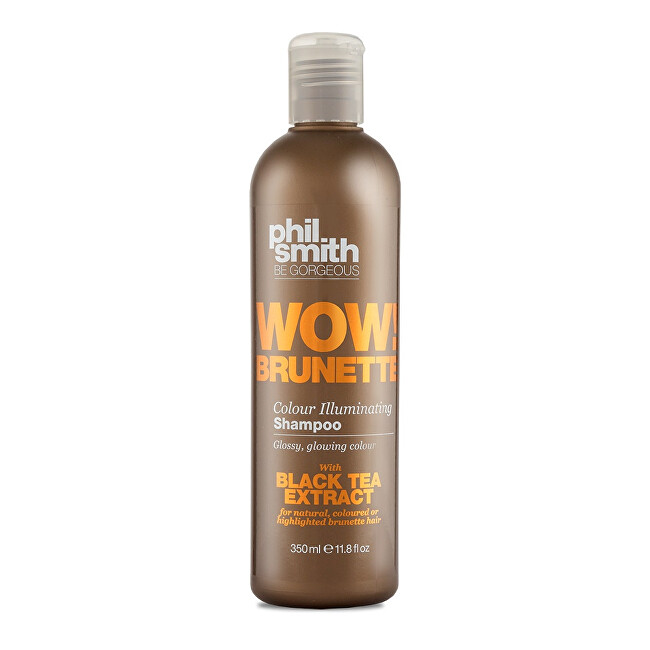 Phil Smith Be Gorgeous Šampon pro hnědé odstíny vlasů Wow Brunette Colour Illuminating Shampoo 350 ml