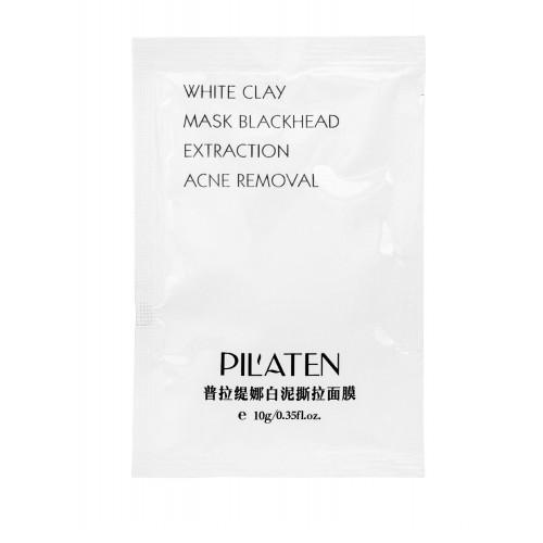 Pilaten Čisticí maska proti černým tečkám (White Clay Mask) 10 g