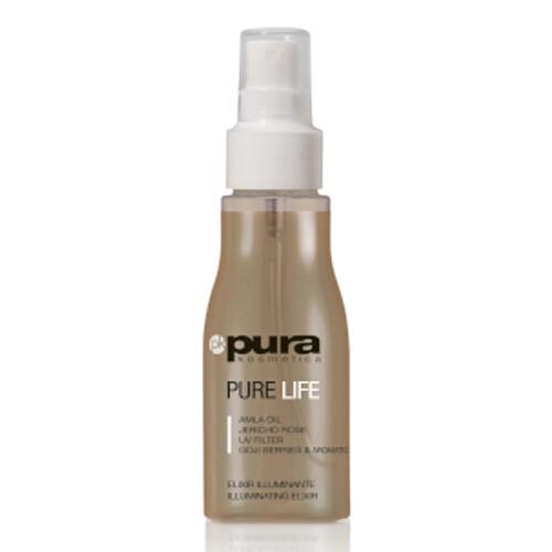 Pura Kosmetica Rozjasňující olej pro všechny typy vlasů Pure Life (Illuminating Elixir) 80 ml