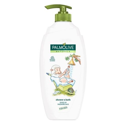 Palmolive Mandlový sprchový gel pro děti s pumpičkou Naturals (Shower & Bath For Kids) 750 ml