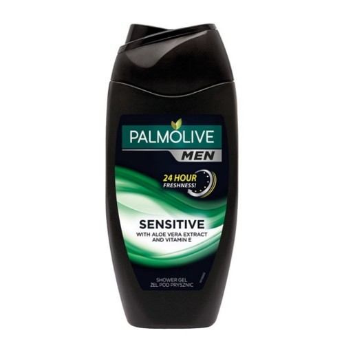 Palmolive Sprchový gél pre mužov s vitamínom E a aloe vera For Men ( Sensitiv e With Aloe Vera Extract And Vitamin E) 500 ml