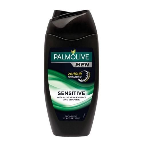 Palmolive Sprchový gel pro muže s vitamínem E a aloe vera For Men (Sensitive With Aloe Vera Extract And Vitamin E) 500 ml