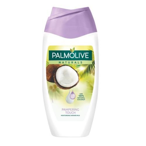 Palmolive Sametově jemný sprchový gel s vůní kokosu Naturals (Pampering Touch Moisturizing Shower Milk) 250 ml