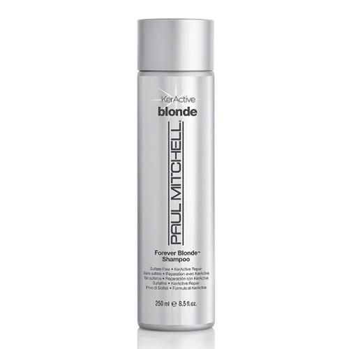 Paul Mitchell Bezsulfátový hydratační šampon pro blond vlasy Blonde (Forever Blonde Shampoo Sulfate-Free KerActive Repair) 75 ml