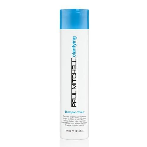 Paul Mitchell Čisticí šampon pro vlasy namáhané sluncem a chlorem Clarifying (Shampoo Three Removes Chlorine And Impurities ) 300 ml