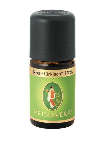 Primavera Éterický olej Růže Turecká Bio 10% 5 ml
