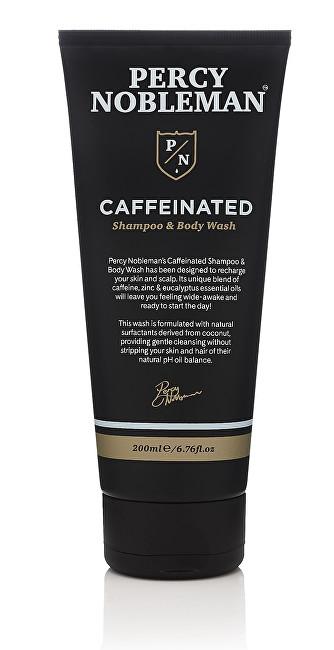 Percy Nobleman Kofeinový šampon a mycí gel (Shampoo & Body Wash) 200 ml