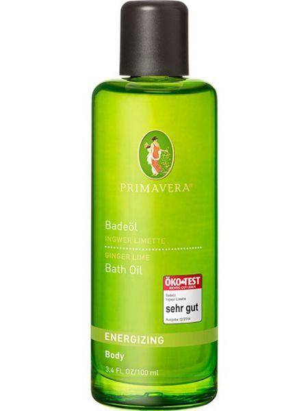 Primavera Bath Oil Zázvor a limeta koupelový olej 100 ml