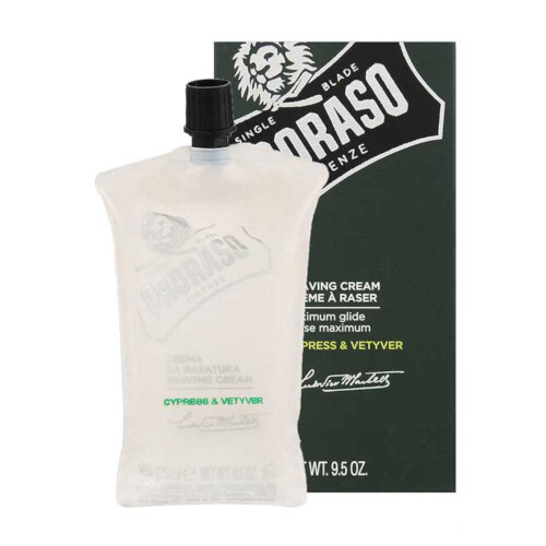 Proraso Krém na holení s cypřišem a vetiverem Cypress & Vetyver (Shaving Cream) 275 ml