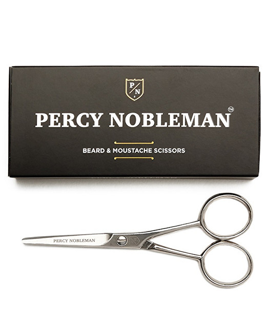 Percy Nobleman nožnice na bradu a fúzy