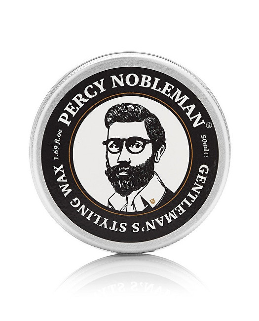 Percy Nobleman Univerzální stylingový vosk na vousy a vlasy (Gentleman´s Styling Wax) 50 ml