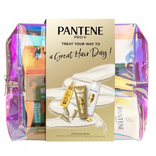Pantene Darčeková sada starostlivosť o vlasy PRO-V Intensive Repair v kozmetickej taštičke