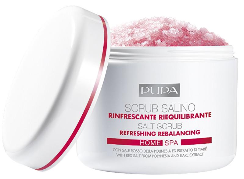 Pupa Osvěžující peeling s obsahem soli Home Spa (Refreshing Rebalancing Salt Scrub) 350 g