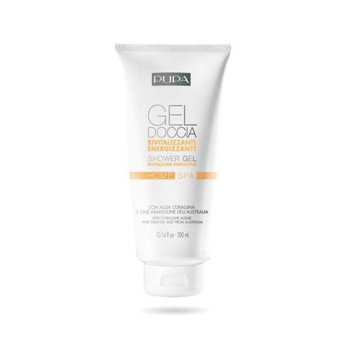 Pupa Revitalizační sprchový gel s korálovou řasou a oranžovou solí Home Spa (Revitalizing Shower Gel) 300 ml