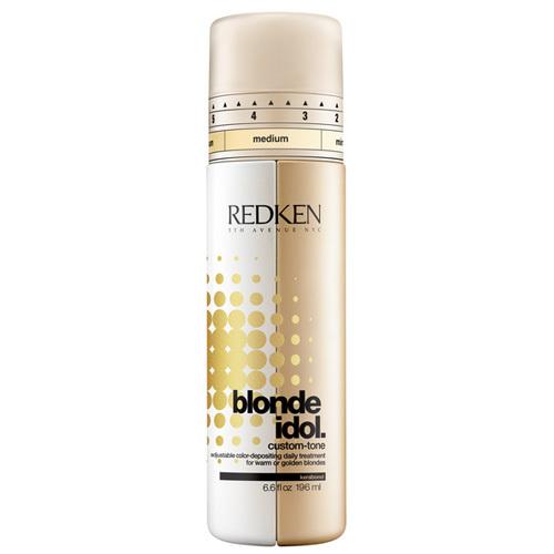 Redken Dvousložkový kondicionér pro teplé blond odstíny Blonde Idol. (Custom-Tone Golden Blondes) 196 ml