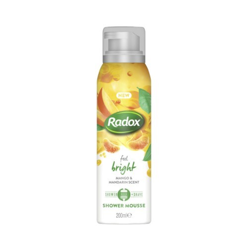 Radox Sprchová pena Feel Bright (Shower Mousse) 200 ml