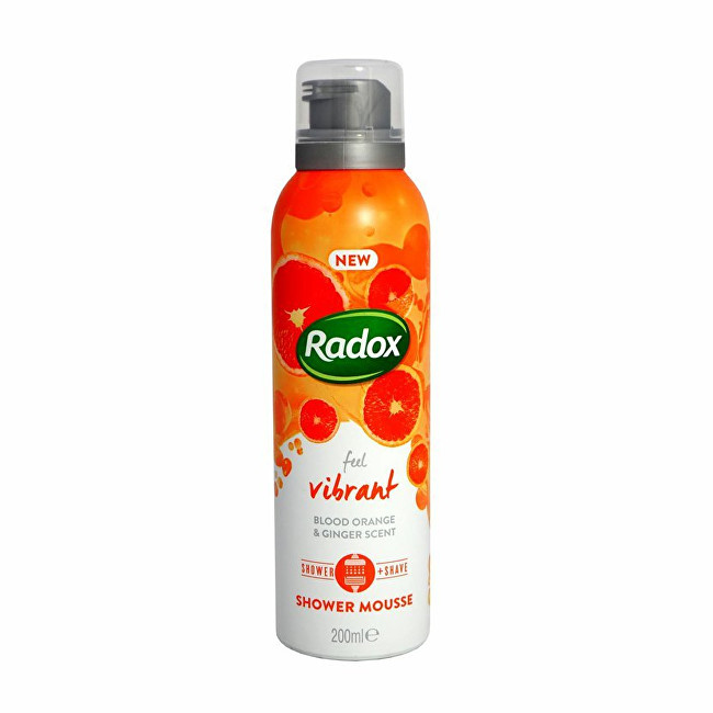 Radox Sprchová pena Feel Vibrant (Shower Mousse) 200 ml