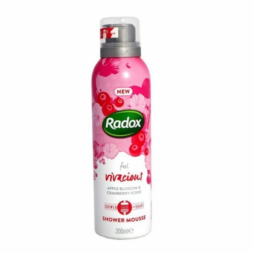 Radox Sprchová pena Feel Vivacious (Shower Mousse) 200 ml