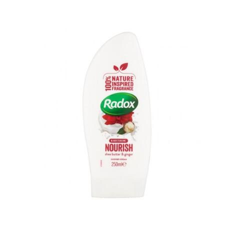 Radox Sprchový gel s bambuckým máslem a zázvorem Nourish (Shower Gel) 250 ml