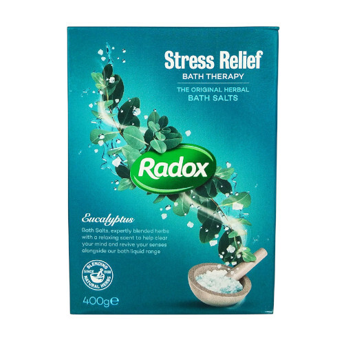 Radox Sůl do koupele Stress Relief (Bath Salt) 400 g