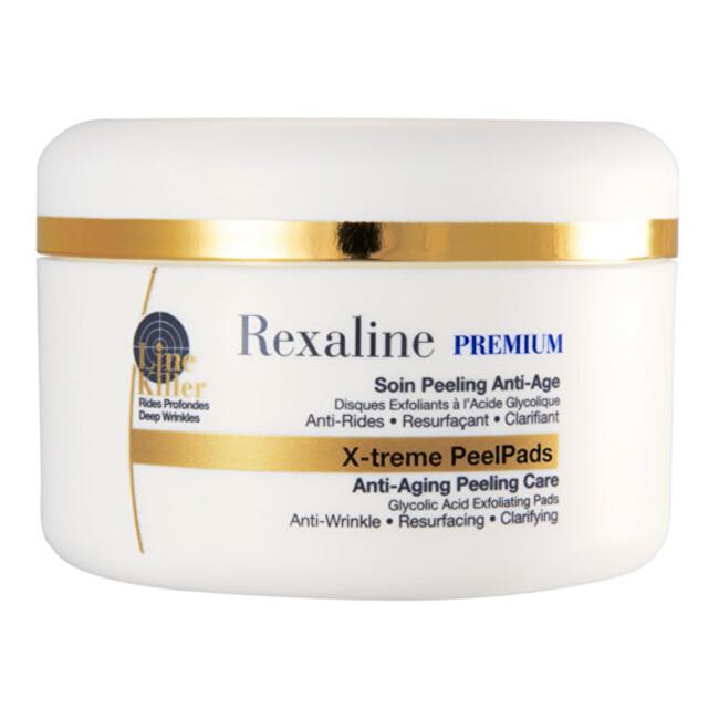 Rexaline Peelingové polštářky Premium Line Killer X-treme PeelPads 30 ks