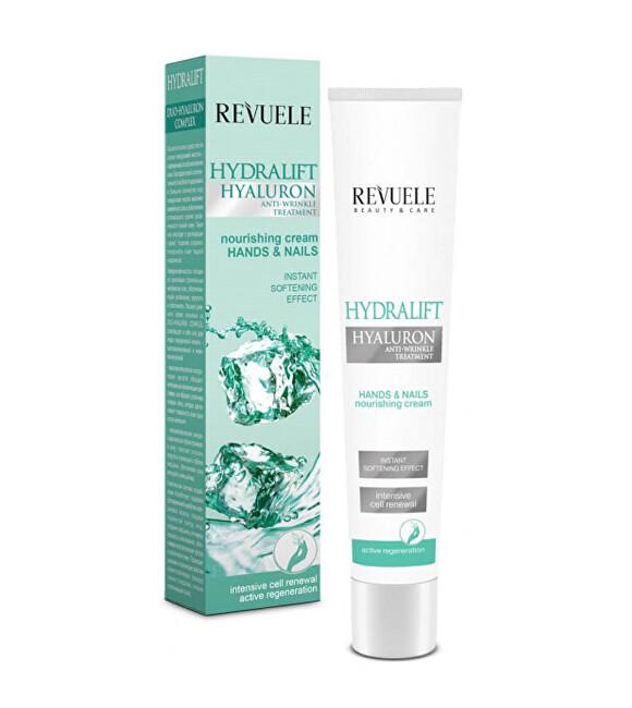 Revuele Hydratační krém na ruce a nehty s kyselinou hyaluronovou Hydralift Hyaluron (Hands & Nails Nourishing Cream) 50 ml