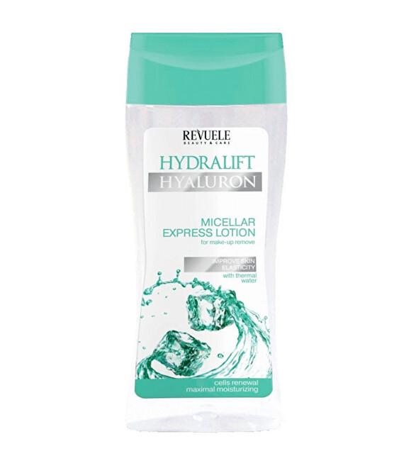 Revuele Micelární voda s kyselinou hyaluronovou Hydralift Hyaluron (Micellar Express Lotion) 200 ml