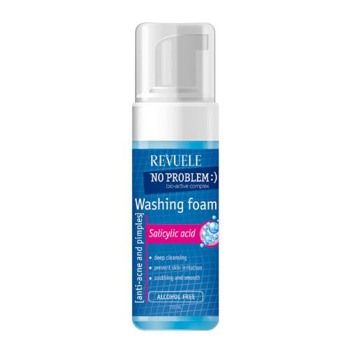 Revuele Umývacia pleťová pena No Problem (Washing Foam Anti-Acne & Pimples With Salicylic Acid) 150 ml