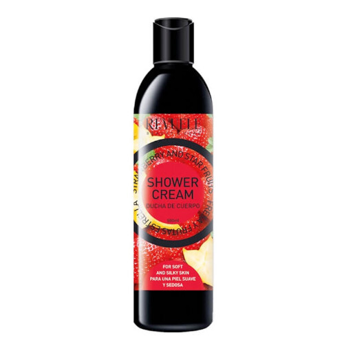 Revuele Ovocný sprchový gel Fruit Skin Care Strawberry and Star Fruits Body Shower 500 ml