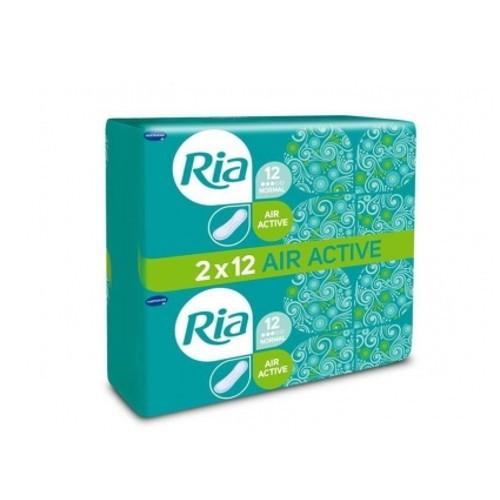 Ria Dámské hygienické vložky bez křidélek Air Active Normal Duopack 24 ks