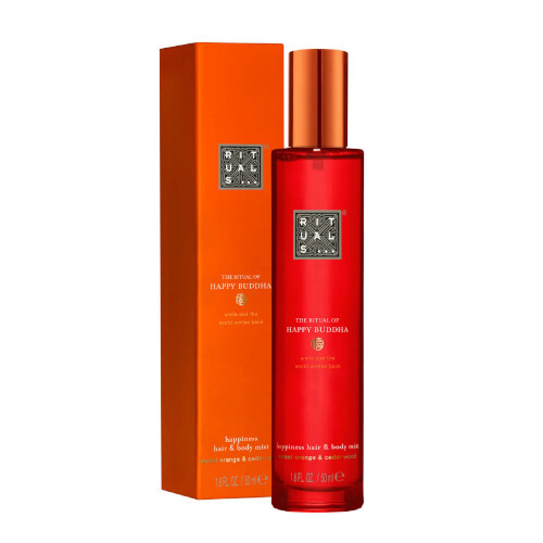 Rituals Jemný sprej na tělo a vlasy The Ritual Of Happy Buddha Happiness Hair amp; Body Mist 50 ml