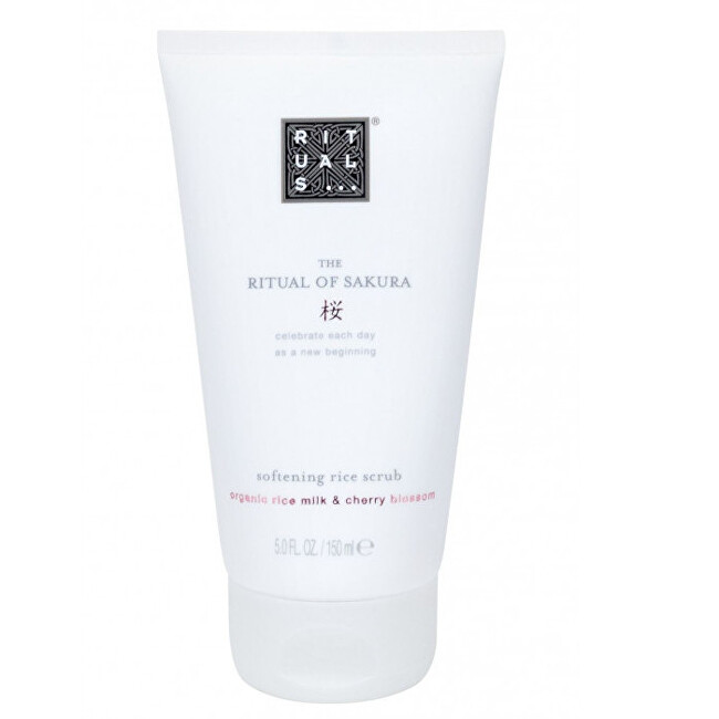 Rituals Jemný telový peeling The Ritual Of Sakura (Softening Rice Scrub) 150 ml