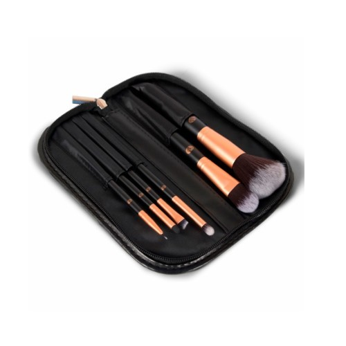 Rio-Beauty Sada štetcov na make-up (Cosmetic Brush Collection) 6 ks