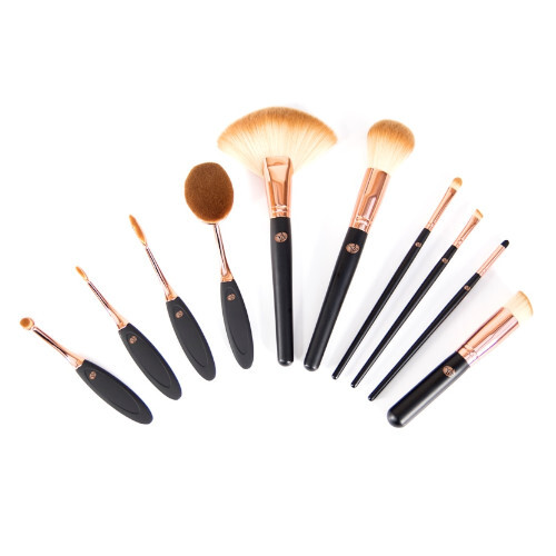 Rio-Beauty Štetce na make-up (Make Up Artists Pro Cosmetic Brush Collection) 10 ks