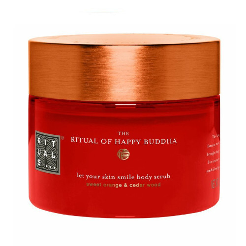 Rituals Tělo vý peeling The Ritual Of Happy Buddha (Let Your Skin Smile Body Scrub) 375 g