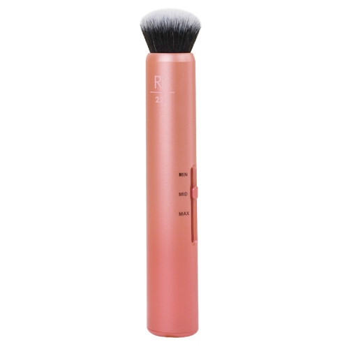 Real Techniques Kosmetický štětec na make up 3 v 1 Custom Complexion Brush