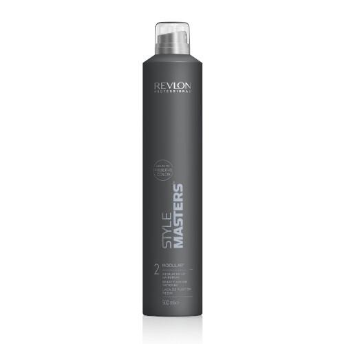 Revlon Professional Lak na vlasy středně tužící Style Masters (Hairspray Modular) 500 ml - SLEVA - chybí část dávkovače