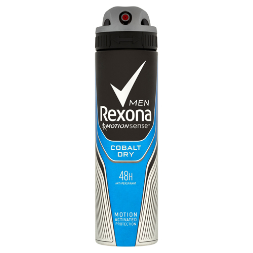 Rexona Antiperspirant ve spreji Men Motionsense Cobalt Dry 150 ml
