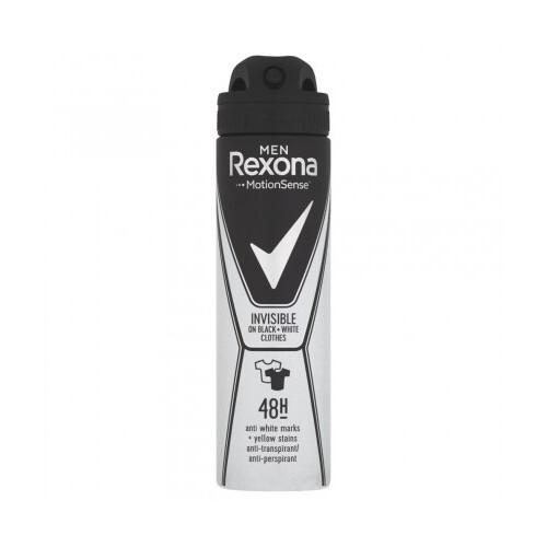 Rexona Antiperspirant ve spreji Men Motionsense Invisible Black+White 150 ml